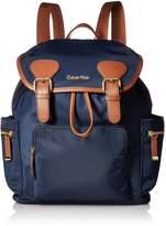 Calvin Klein Dressy Nylon Buckle Backpack