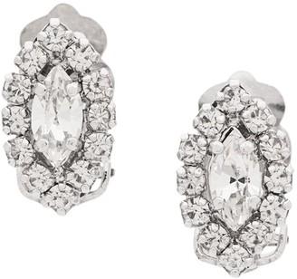 Christian Dior X Susan Caplan 1996 Archive Geometric Clip-On Earrings