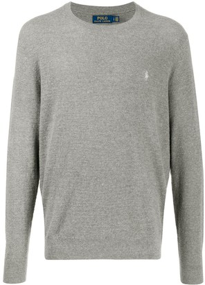 Polo Ralph Lauren Embroidered Logo Relaxed-Fit Jumper