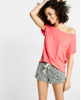 Express off the shoulder tee