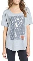 '47 Women's 'Chicago Bears' Graphic Heathered Boyfriend Tee
