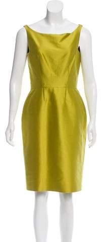 Oscar de la Renta Sleeveless Sheath Dress