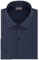 Kenneth Cole Reaction Men's Tall Slim-Fit Techni-Cole Stretch Performance Geometric Dress Shirt