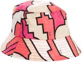 Emilio Pucci Abstract Print Bucket Hat