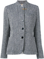 Fay tweed jacket - women - Cotton/Polyamide/Polyester/Polyurethane - 44