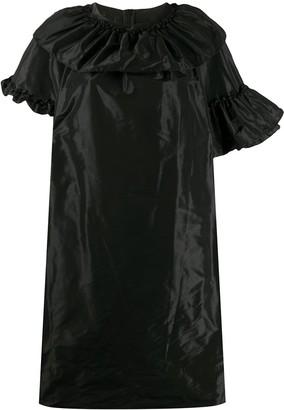 Simone Rocha Ruffled Satin Dress