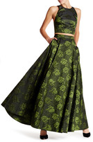 Alice + Olivia Carey Embroidered Ball Gown Skirt