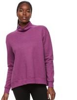 Tek Gear Women's Easy Fleece Turtleneck Sweatshirt