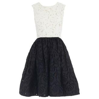 Oscar de la Renta Black Lace Dresses