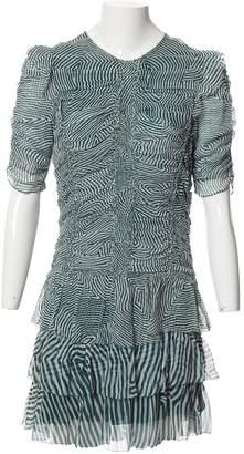 Etoile Isabel Marant Green Silk Dresses