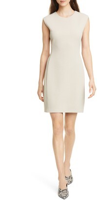 Club Monaco Sculptural Knit Minidress