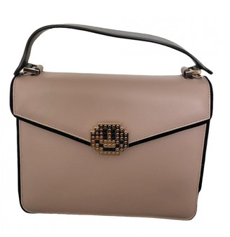 Les Petits Joueurs Beige Leather Handbags