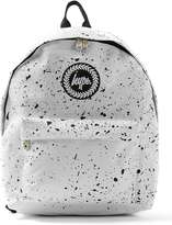 Hype White Paint Splat Backpack*