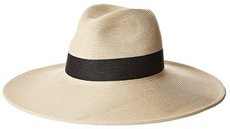 Hat Attack Fine Classic Continental (Natural/Black) Bill-fold Wallet