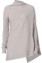 Marques Almeida Marques' Almeida Draped Asymmetric Knit Sweater