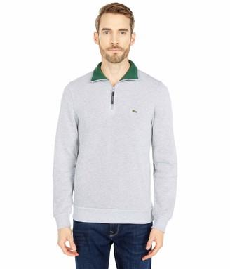 Lacoste Men's Rib Interlock 1/2 Zip Sweatshirt SH1925-51