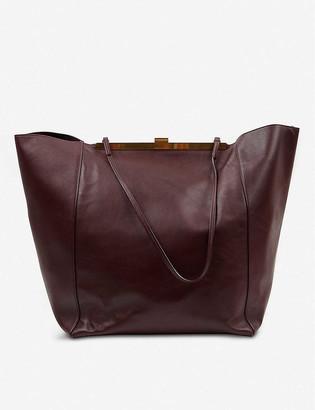 Vestiaire Collective Celine Cabas leather tote bag