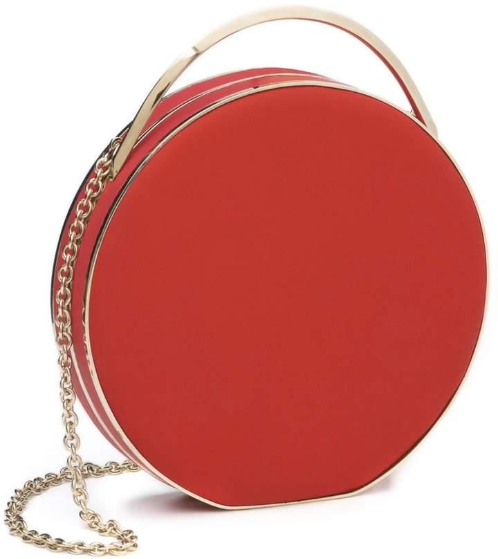 Eddie Borgo Chet minaudiere leather shoulder bag