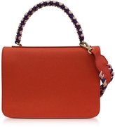 Emilio Pucci Leather Mini Expanding Shoulder Bag