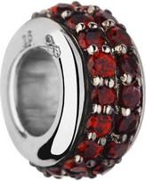Links of London Sweetie silver & rhodolite garnet bead