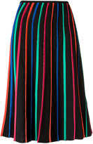 Reinaldo Lourenço striped midi skirt