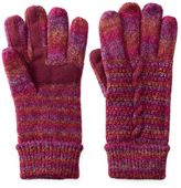 Isotoner Women's Glimmer Marled Tech Gloves