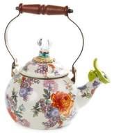 Mackenzie Childs Flower Market Whistling Tea Kettle