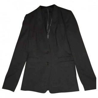 HUGO BOSS Grey Cotton Jacket for Women
