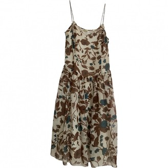 Bellerose White Silk Dress for Women