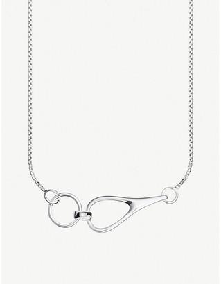 Thomas Sabo Heritage interlocked sterling silver necklace