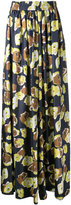 Martin Grant floral print palazzo pants - women - Silk - 38