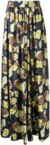 Martin Grant floral print palazzo pants