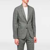 Paul Smith A Suit To Travel In - Tailored-Fit Grey Windowpane Check Blazer