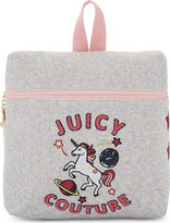 Juicy Couture Unicorn doodles metallic backpack
