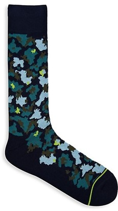 Paul Smith Camouflage Knit Socks
