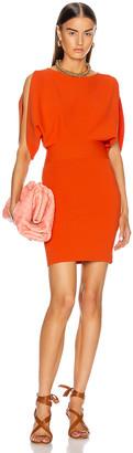 Stella McCartney Knit Mini Dress in Flame | FWRD