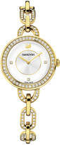 Swarovski Aila Yellow Gold Tone Bracelet Watch