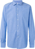 Glanshirt chambray shirt - men - Cotton - 39