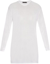 Calvin Klein Collection Baber long-sleeved cotton-blend jersey top