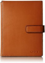 Lodis Audrey Passport Wallet with Ticket Flap, Toffee, One Size