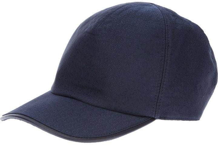 Giorgio Armani 'Monogram' cap