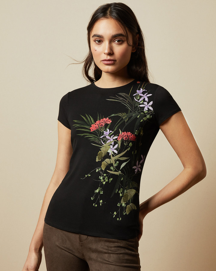 Ted Baker SYRENTI Highland fitted T-shirt