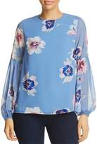 Yumi Kim Executive Floral Print Top