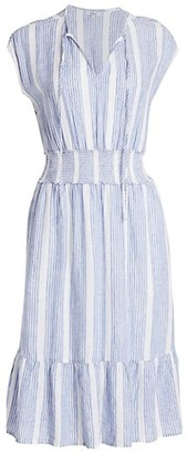 Rails Ashlyn Striped Midi Dress