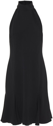 Stella McCartney Open-back Fluted Crepe Dress