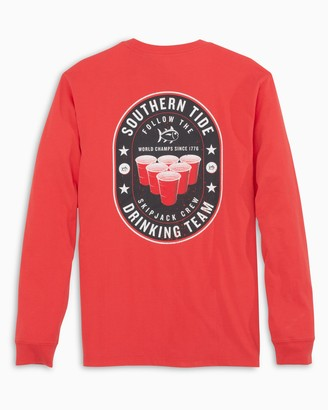 Southern Tide Drinking Team Long Sleeve T-Shirt