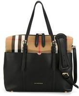 Burberry House check changing tote