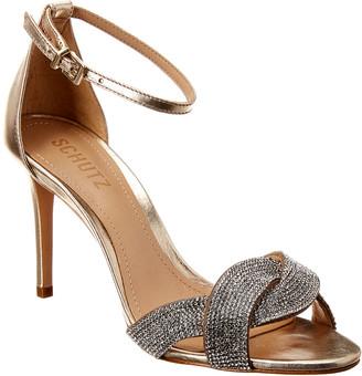 Schutz Jolita Leather Sandal