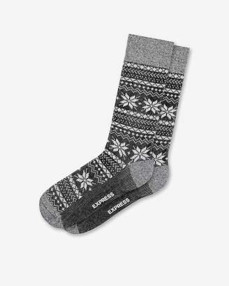 Express Fair Isle Socks