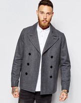Paul Smith Jeans Peacoat - Grey